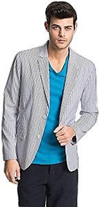 Vince Men's Chambray Stripe Blazer Size XXL MSRP $395.00