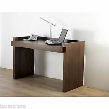 Alphason 'Campbell' Real Walnut Veneer Desk / Workstation - Ideal for Laptops