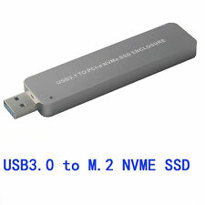 NVMe SSD to USB 3.0 Adapter Converter For PCIE M.2 2280 SSD External Drive new