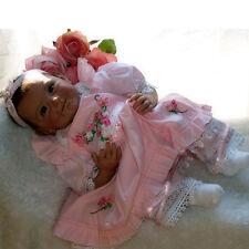 "So Cute Realistic Doll 22"", Linda, Reborn Newborn Baby Look Real Doll Gift Toys"