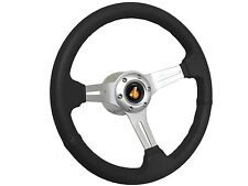 1982 -1987 Buick Regal Grand National Black Sport Steering Wheel Brushed Kit