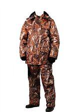 Warm Fishing Hunting Camouflage Suit Set Jacket Trousers Bib and Brace XL New