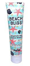 Pro Tan Beach Bliss Natural Bronzer Sunbed Tanning Lotion Cream (280ml tube)
