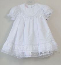 NWT Will'beth White Heirloom Lace 2pc Dress 12M 12 Bloomers Girls Christening