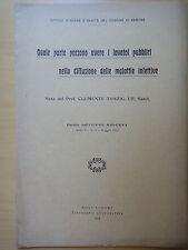 1912-LAVATOI PUBBLICI-Prof.CLEMENTE TONZIG-IGIENE-SANITA-VERONA