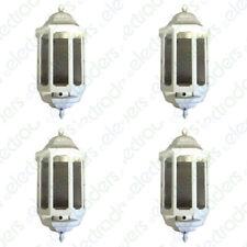 4 x ASD HL/WK060C Half Lanterns with Photocell Dusk to Dawn 60 Watt BC (White)