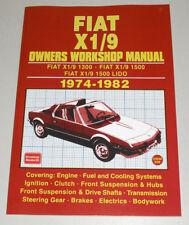 Reparaturanleitung Fiat X 1/9 1300 + 1500 + LIDO, Baujahre 1974 - 1982