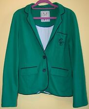 Crew Clothing Co. Green Blazer Jacket Uk 12
