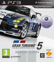 Gran Turismo 5: Academy Edition - Playstation 3 (PS3) - UK/PAL