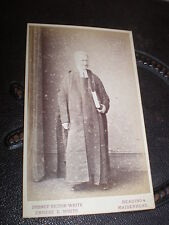 Cdv old photograph lawyer barrister by White at Reading c1870s