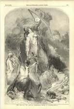 1852 Father Time Taking Wellington Home William Harvey Allegory