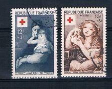 CO - TIMBRE DE FRANCE N°1006 et 1007 oblitérés