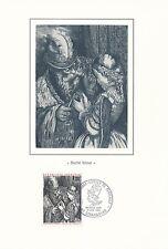 Plaquette Encart 1er Jour - Gustave Doré 1983 Numéroté