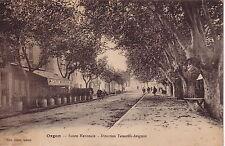 BOUCHES DU RHONE - ORGON - ROUTE NATIONALE - DIRECTION AVIGNON.
