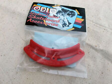 """Vintage Nose Guard by ODI """"The Spoiler"""" for Skateboard Deck 1980s Era, Red"""