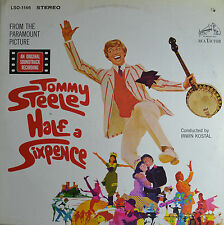 "OST - TOMMY STEELE - HALF A SIXPENCE - IRWIN KOSTAL  12""  LP (Q945)"