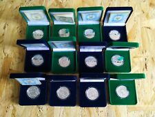 Lot of 12 Ukraine Silver Proof 1/2 Oz Coins 5 UAH Chinese Calendar 2006 - 2016