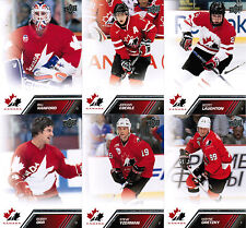 2013 13/14 UD TEAM CANADA COMPLETE BASE SET (100) GRETZKY YZERMAN ORR 1-100