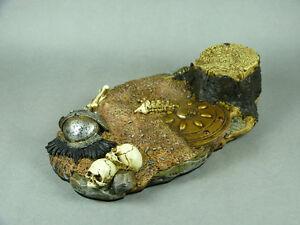 1/6 Scale Phicen, TBLeague, Hot Toys, Kumik Sparta War-Torn Figure Prop Base