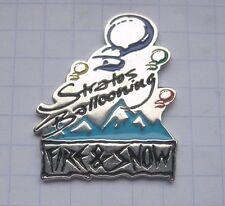 STRATOS BALLOONING / FIRE & SNOW   .....  Special Shape Ballon-Pin (145g)