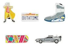 Back to the Future Collectible Pin Set SEALED