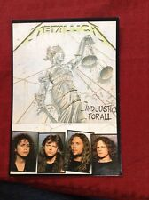 Metallica And Justice for All Postcard
