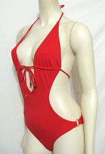 Victoria's Secret Swimsuit Hot Red Monokini Sexy Small One Piece Bathing Suit S