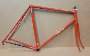 TREK 660 Lugged Steel Frameset Frame/Fork Bike Bicycle 56cm