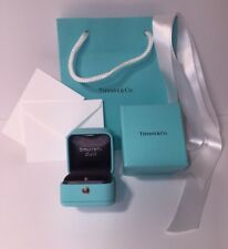 0bbb1f8b7f6 ... JEWELRY TRAVEL CASE POUCH & BOX. $165.00 · Tiffany & Co Presentation Blue  Leather Engagement Ring Box and Blue Box