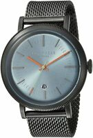 Ted Baker Men's Connor Grey Stainless Steel Quartz Watch TE15062008
