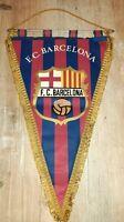 *RAR* Riesen Wimpel 47 cm F.C. Barcelona Spanien Pennant rareza banderín Spain