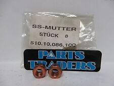KTM Self Locking Nut M 8 Set of 2 1190 990 690 950 RC8 Super Duke Adventure