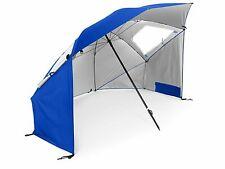 SLZ Super-Brella Portable Sun and Weather Beach XL Umbrella - Blue