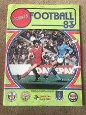 Panini Football 83 Album Clean Condition 18 Stickers In Album