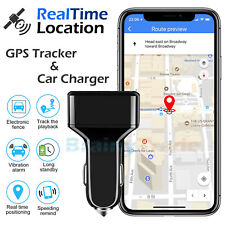 GPS Tracker Real Time Vehicle Tracking Device USB Charger for Car Truck Locator