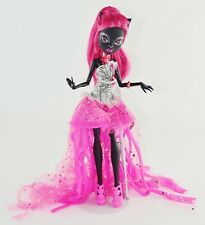 2013 Monster High Black Cat CATTY NOIR 13 Thirteen Wishes Doll Pink Hair