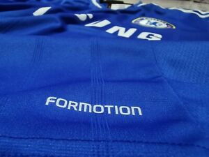 2013-14 Chelsea FC home formotion player issue shirt size 10