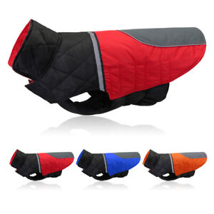 Waterproof Dog Winter Clothes Reflective Warm Jacket Coat for Small Large Dogs