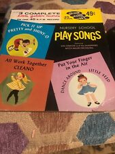 Nursery School, Play Songs, 45 Lp