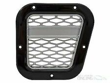 LAND ROVER DEFENDER - XS RH Air Intake Grille Black with Silver Mesh (DA1970)