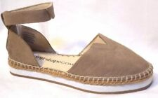 Taking Shape Leather Espadrille Flats for Women