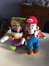 Rarissimo lotto 2 peluches originali nintendo super Mario etichettati nuovi