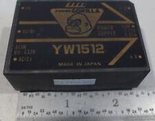 Power Products Inc, PowerGorilla YW 1512 AC to DC Converter NEW
