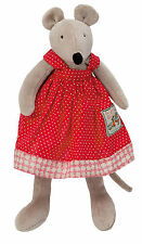 Moulin Roty La Grande Famille 30 cm Soft Plush Toy Nini the Mouse from Wyestyles