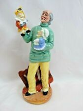 Royal Doulton Character Figurine-Punch And Judy Man Hn2765 1980England Excellent