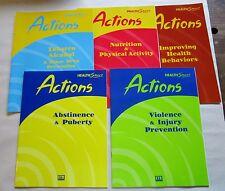ETR Associates Health Smart Actions Lot: Student Education Training Workbooks