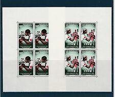 Gabon  blocs  croix rouge  1966     num:  BF 4/5  **