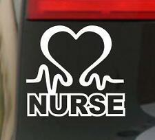 Nurse heart tribute Car Window JDM Bumper Vinyl Decal Sticker JDM VW NHS