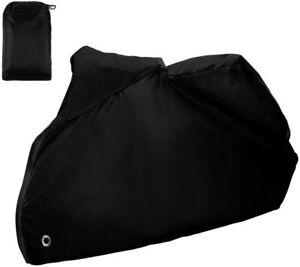 Telo Coprimoto Impermeabile Universale, Parapioggia e Paravento Anti UV, nero