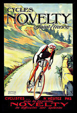 Novelty Cycles Tour de France Bicycle Bike Cycle  Poster Print